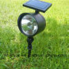 Lumière solaire de jardin de famille extérieur