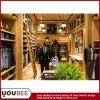 純木の人の衣服Shopfittingの人の衣服の店の装飾