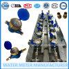 Latón Multi-Jet Vane Rueda seco contador del agua de Tipo