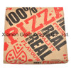 Weiß außen und natürlicher/Kraftpapier-Innenpizza-Kasten (PB160623)