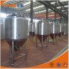 ステンレス製の円錐発酵槽