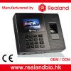 Impressão digital biométrica e de cartão de RFID sistema do comparecimento do tempo
