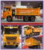 6X4 Shacman 12ton Dump Truck (CLW3913)