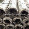 304 a tressé le tuyau métallique flexible ridé d'acier inoxydable