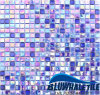tegel van het Mozaïek van het Glas van de Smelting van 15X15mm de Iriserende Hete (GCO040MG)