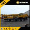 O guindaste Qy25k-II do caminhão monta o motor extrangeiro