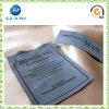 La escritura de la etiqueta tejida poliester de encargo decorativo de la ropa del doblez del extremo arropa las escrituras de la etiqueta (JP-CL124)