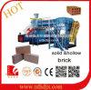 Grande brique automatique d'argile formant la machine