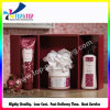 Коробка внимательности кожи бумажной коробки косметик способа профессиональная бумажная упаковывая