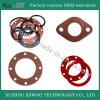Garnitures plates de rondelles de joint circulaire en caoutchouc de silicones de fabrication de la Chine