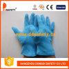 Голубая перчатка Dch106 хлопка