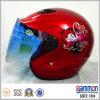 Capacete aberto popular da motocicleta/trotinette da face para a senhora (OP210)