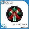 Vert Flèche/Rouge Croix Aller et Arrêter Cœur Signal de Circulation