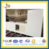 Partie supérieure du comptoir en pierre blanche de Carara Quartze pour la cuisine