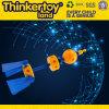 Macchina da corsa di plastica Education Toy di DIY per le particelle elementari di Kids