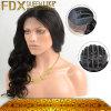 최상 가발 100% 인도 머리 인간적인 레이스 정면 가발 (FDX-SM-2016-6)