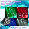¡Caliente! Luz no impermeable de la IGUALDAD de 54*3W RGBW IP65 LED