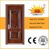 Commericalの現代デザイン補強された金属の鉄のドア(SC-S136)