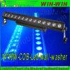 14*10W iluminación al aire libre del edificio del RGB de la arandela de la pared de la MAZORCA LED