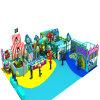 Campo de jogos interno das crianças coloridas macias do jogo