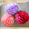 Flores del panal del papel de tejido de la decoración del contexto de la boda