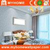 Camera da letto romantica Wall Paper con White Leaves