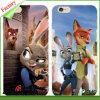 Cas mous de téléphone mobile de l'impression de couleur de TPU iPhone6 (RJT-A021)