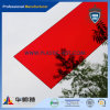 Rotes Plexiglas-Acrylblatt/Vorstand/Platte/Panel