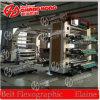 Alta velocidad de 150 m / min Máquina plástica de impresión flexográfica
