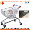 슈퍼마켓 아크 모양 크롬 쇼핑 트롤리 (Zht50)