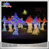 Grande cogumelo ao ar livre novo do Natal 2015 com luzes do diodo emissor de luz