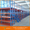 Estantería del piso de entresuelo de la estructura del metal del almacenaje de la fábrica