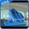 Diapositiva de agua inflable del sacacorchos del nuevo diseño para el alquiler