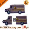UPS Express Company 로고 트럭 PVC USB Pendrive (YT-UPS)