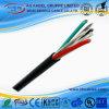 Fio flexível do PVC do fio do gancho do cabo de poder UL21029