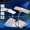 태양 Foldable 재충전용 눈 방어적인 40의 LEDs 비용을 부과 테이블 책상용 램프