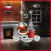 크리스마스 LED 가벼운 산타클로스 눈이 내리는 크리스마스 훈장
