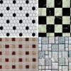 Glass cristalino Mosaic para Wall, Swimming Pool, Tile