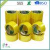 黄色いBOPPの付着力のパッキングテープ- P010