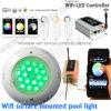 Iluminação pessoal da piscina, luzes impermeáveis da associação IP68 do diodo emissor de luz