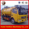 Dongfeng 4X2 Mini Vacuum Sewage Suction Truckの工場Price