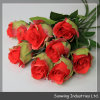 Wedding Decoration를 위한 Sunwing Real Touch Red Artificial 로즈 Flowers