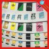 Corde accrochante de drapeaux nationaux de la coupe du monde 32