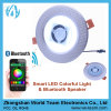 APP Control 5 Inches Smart LED Spotlight met Bluetooth Speaker