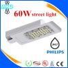 60W indicatore luminoso di via caldo dell'angolo di strada LED ed indicatore luminoso dei dispositivi alla notte