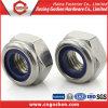 Écrou en nylon M24 de l'acier inoxydable DIN985 304