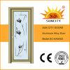 Trappes en verre d'alliage d'aluminium de fleur en verre de miroir (SC-AAD002)