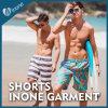 Os Mens de Inone M008 nadam calças curtas dos Shorts ocasionais da placa