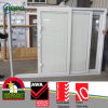 Hot Design PVC para puertas corredizas con Blins Glass