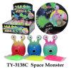Het grappige RuimteStuk speelgoed van het Monster